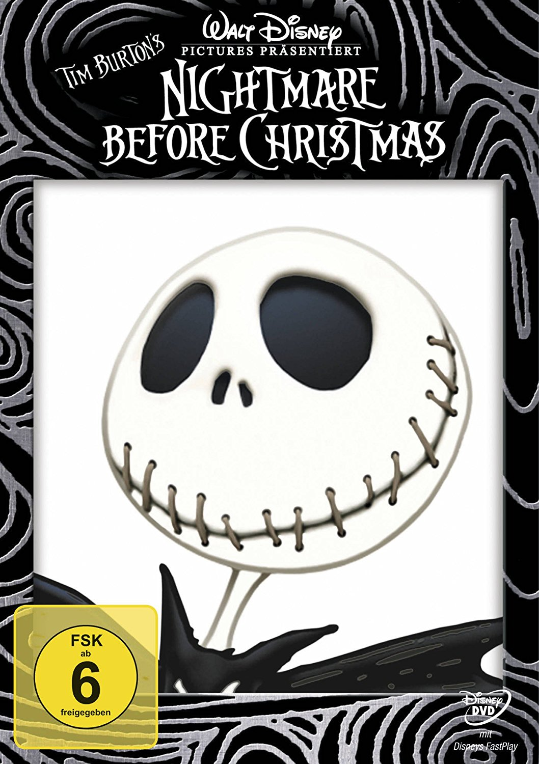 "DVD-Cover ""Nightmares Before Christmas"""