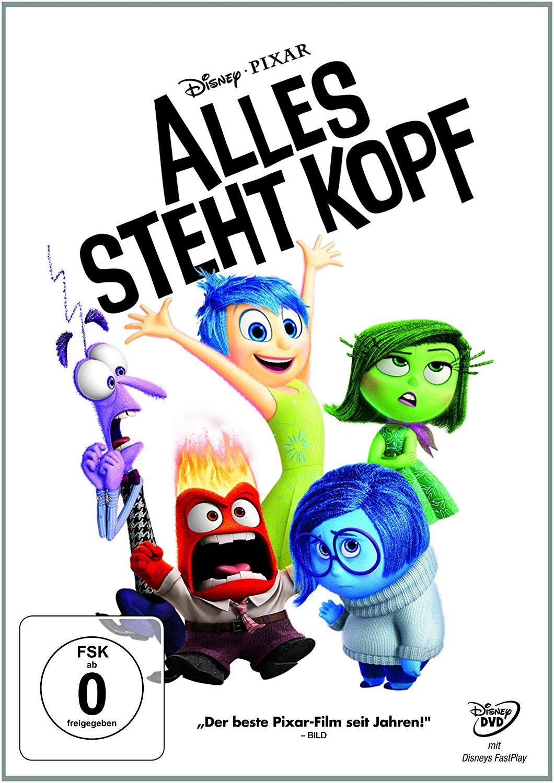 """Alles steht kopf"" DVD-Cover des Kinderfilms."