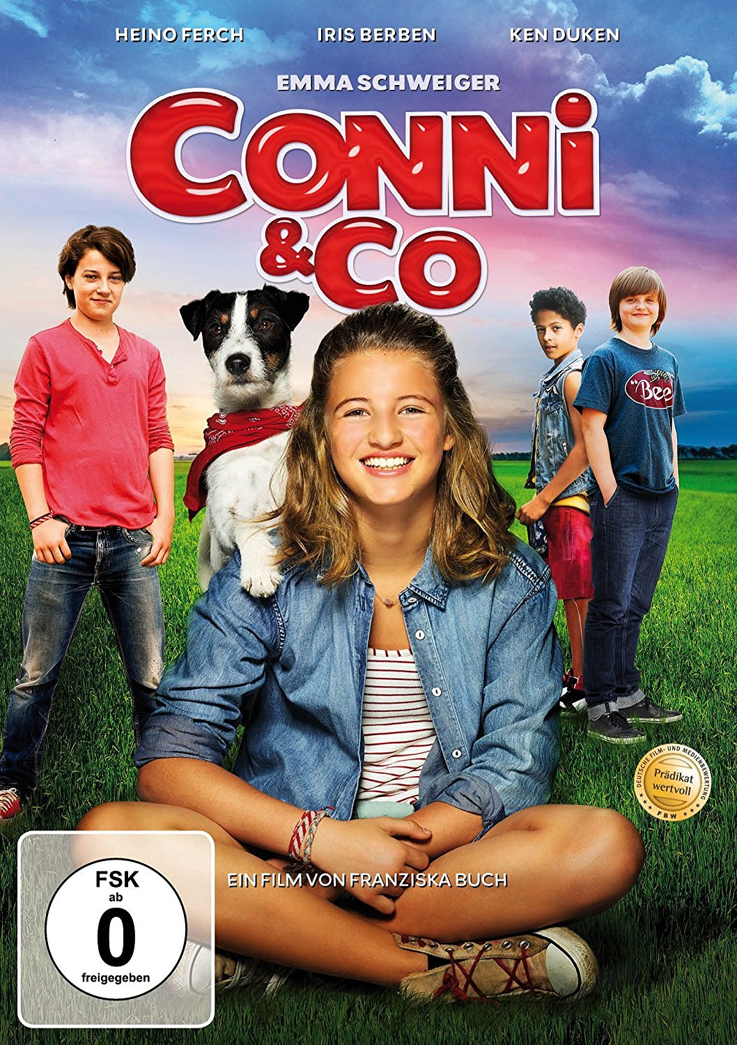 "DVD-Cover des Kinderfilms ""Conni & Co""."