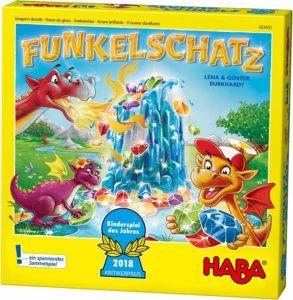 Funkelschatz ist ein fantasievolles Spiel für Kinder.