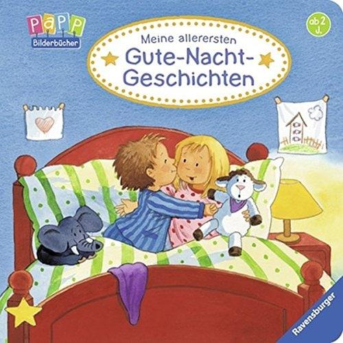 """Gutenachtgeschichten Buchempfehlung """"Meine allerersten Gute-Nacht-Geschichten"""" erhältlich über Amazon als Vorlesebuch für Gutenachtgeschichten."""