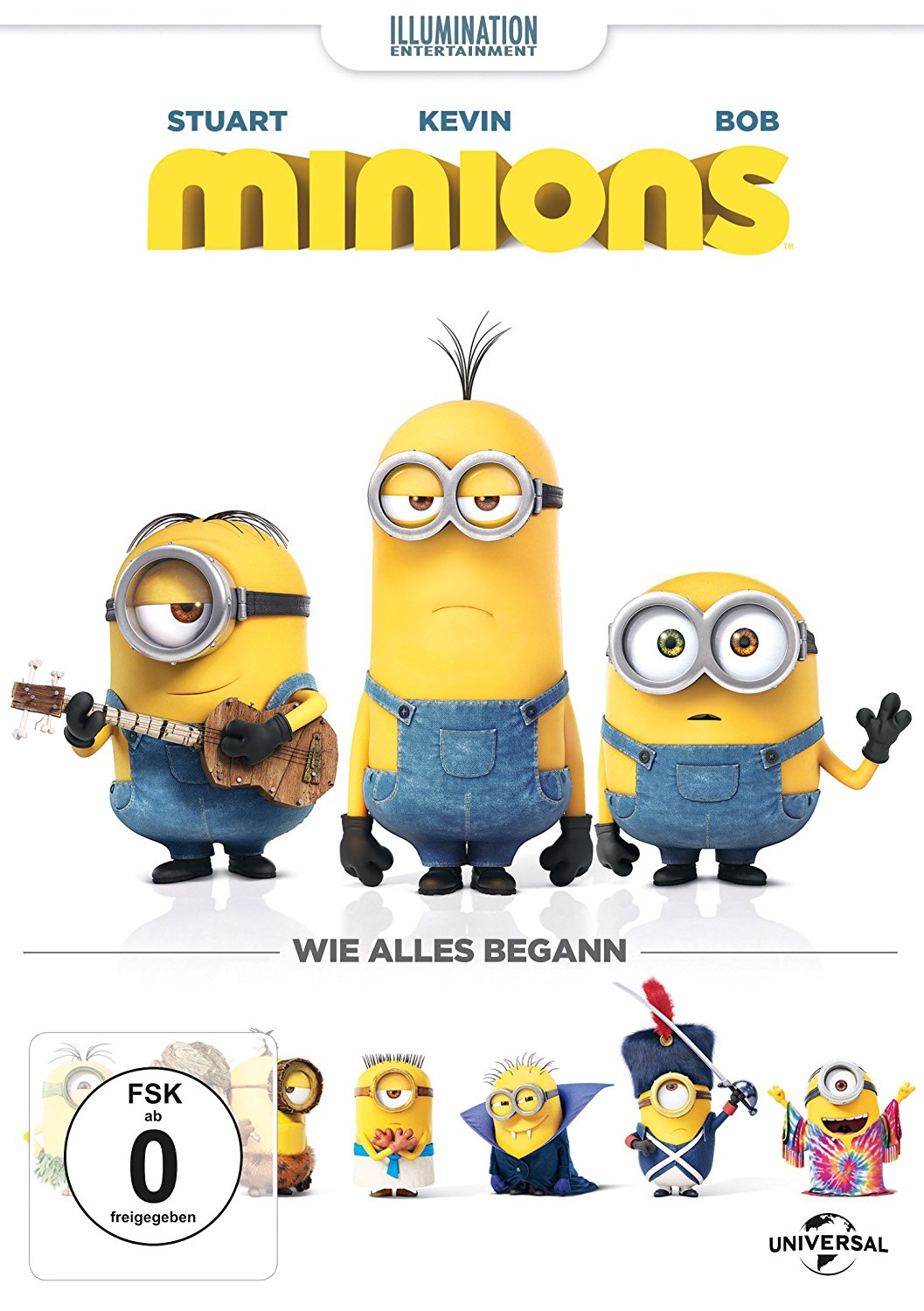 """Minions"" DVD-Cover des Kinderfilms."