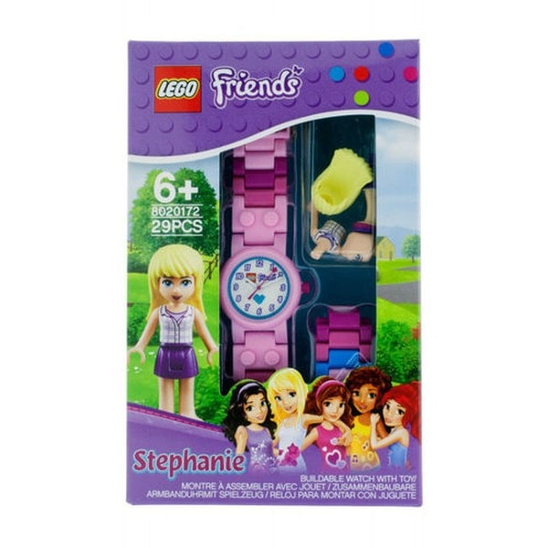 Lego friends Kinderuhr.