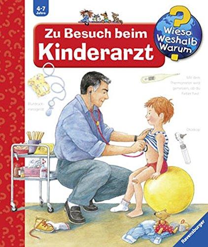 """Das Buch """"Zu Besuch beim Kinderarzt"""" erklärt anschaulich alle wichtigen Kinder-Fragen zum Thema."""