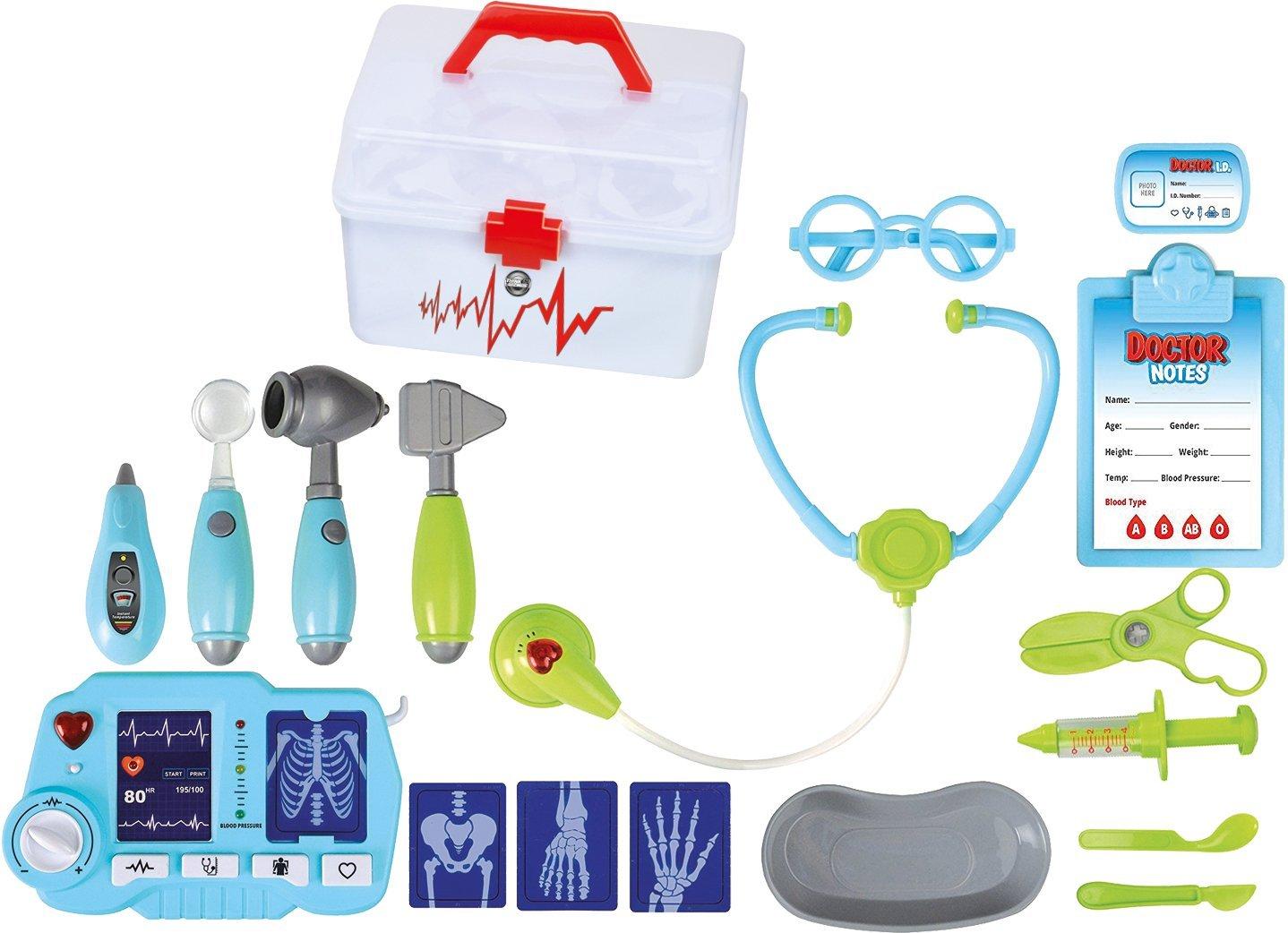 Das medizinische Spielzeugset von ThinkGizmos hat sogar ein Röntgengerät!