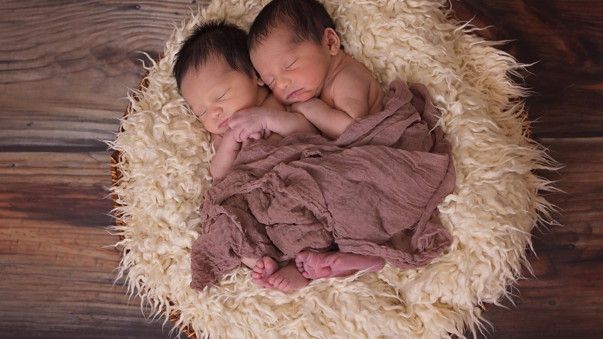 Zweieiige Zwillinge - die häufigste aller Mehrlingsschwangerschaften
