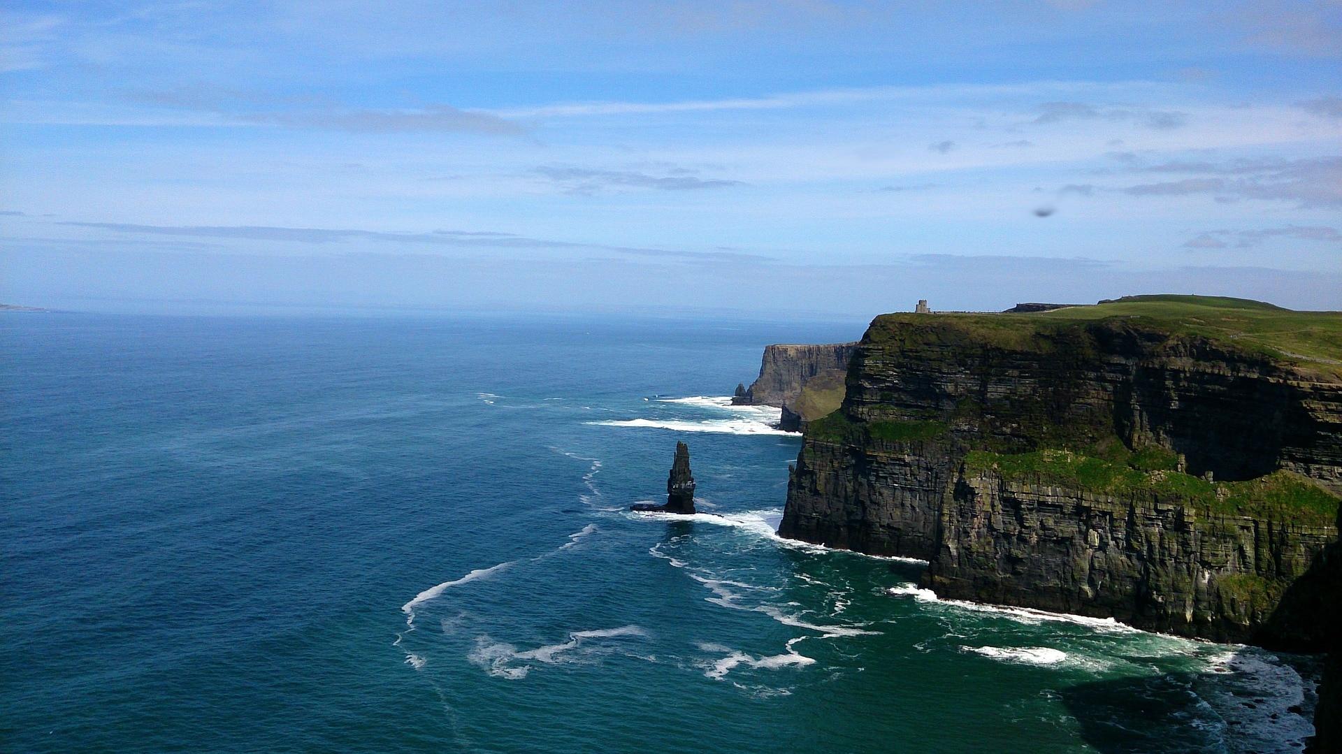 Atemberaubend schön: Cliffs of Moher.